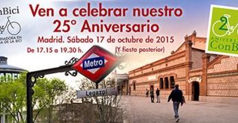 ¡¡25 años de ConBici!!