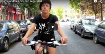 Video Circulando en bici con seguridad