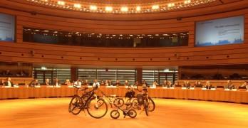 Bicis en la cumbre de la bici en Luxemburgo