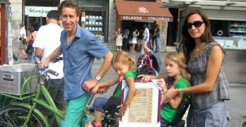 X Premio ConBici a la movilidad sostenible 2012: La familia Green-García