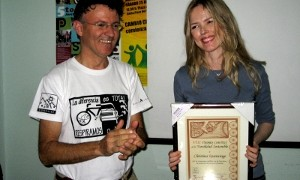 VIII Premio ConBici a la movilidad sostenible 2010: Christina Rosenvinge