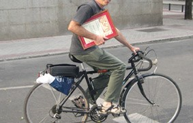 IV premio ConBici a la movilidad sostenible 2006: Alfonso Sanz