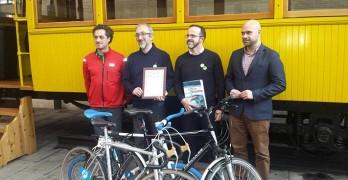 XIII Premio ConBici a la movilidad sostenible 2015: La iniciativa 30 Días en Bici