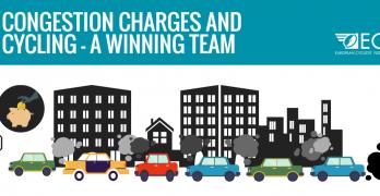 Las tasas de congestión y el ciclismo: un equipo ganador