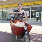 Las revistas CICLOSFERA de los socios de ConBici se reparten ya por toda España (en parte a pedales)