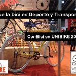 Agenda de ConBici en UNIBIKE 2016