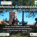 Conferencia: Vías Verdes para Todos