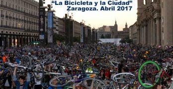 """Zaragoza ya prepara el XIV Congreso """"La Bicicleta y la Ciudad"""""""