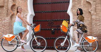 Primer sistema de bicicletas públicas en África