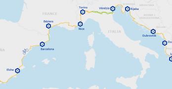 "Impulso a la ruta EuroVelo 8 ""La ruta Mediterránea"""