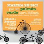 MARCHA EN BICI por un pulmón verde para Málaga – 11/02/2017