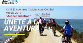 """""""Achoencuentros"""" a pedales por la Región de Murcia"""