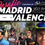 Desafío Madrid-Valencia: 360 km para reivindicar seguridad vial y convivencia