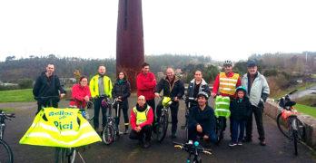 Composcleta invita a disfrutar Compostela en bici