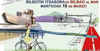 III Marcha Bilbao-Getxo, por el Bidegorri de la Margen Derecha