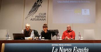 """Presentación del """"Plan Oviedo 360º. La ciudad abierta a la bicicleta"""""""