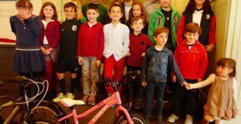 X Concurso de pintura escolar por una ciudad sostenible: CON BICI AL COLE