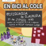 Tenerife por la Bici dinamizó la Biciguagua al CEIP Camino Largo