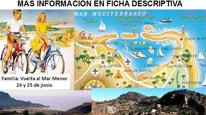 Fusión de rutas por la costa de Murcia