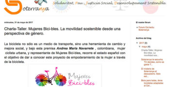 Valencia: Charla-Taller. Mujeres Bici-bles