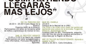 Programa para la SEM de Murcia en Bici