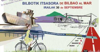 """IV Marcha """"Bilbotik-Itsasora / De Bilbao al mar"""" (30 de septiembre)"""