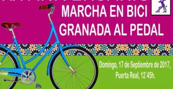 Granada Al Pedal lanza un decálogo con soluciones sostenibles para la movilidad metropolitana