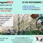 La Asociación Composcleta invita a disfrutar de la bicicleta en Compostela