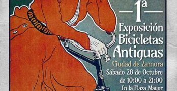Bicizamora organiza la 1ª Exposición de Bicicletas Antiguas