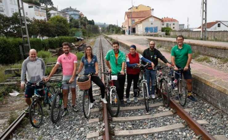 Por una oportunidad para la conexión en bicicleta de las Rías Baixas y de toda Galicia