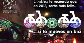 Recuerda… si quieres felicidad en 2108 ¡Muévete en bici!