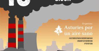 """Manifestación regional """"ASTURIES POR UN AIRE SANO"""""""