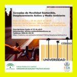 Jornadas de Movilidad Sostenible, Desplazamiento Activo y Medio Ambiente