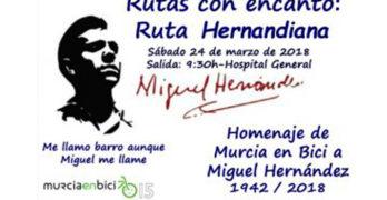 Murcia en bici: Ruta del poeta Miguel Hernández