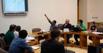 Reunión en el Parlamento Gallego de Partidos y Coordinadora Gallega por la Bicicleta