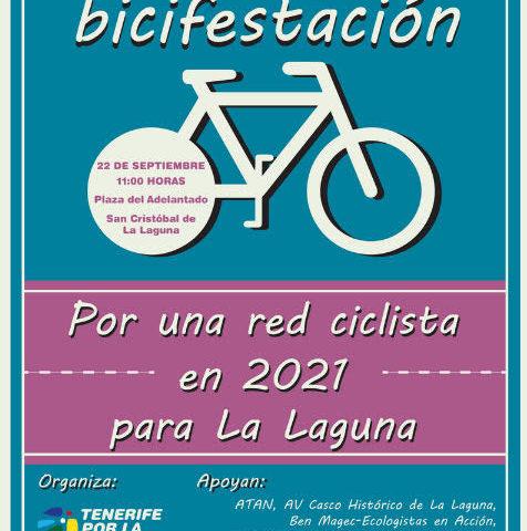 """""""Por una Red de Carriles Bici para La Laguna en 2021"""""""