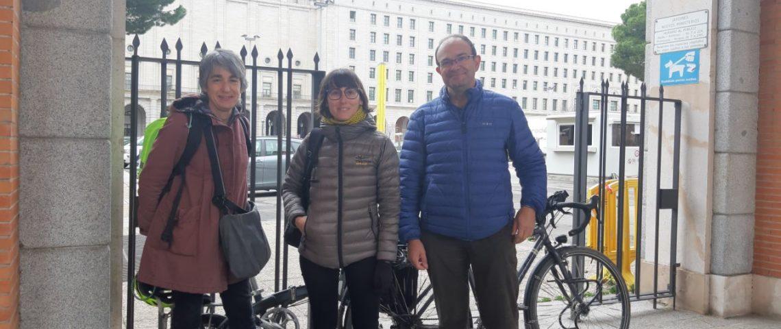 ConBici fomenta la bici en el Ministerio de fomento