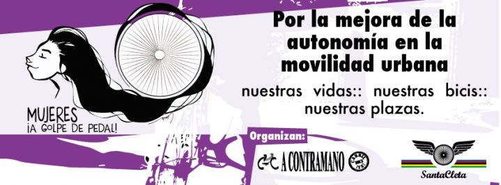 A Contramano valora positivamente el proyecto «Mujeres en bici por Sevilla»