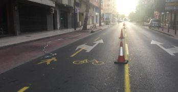 Castalló, ampliació espai de vianants i ciclista