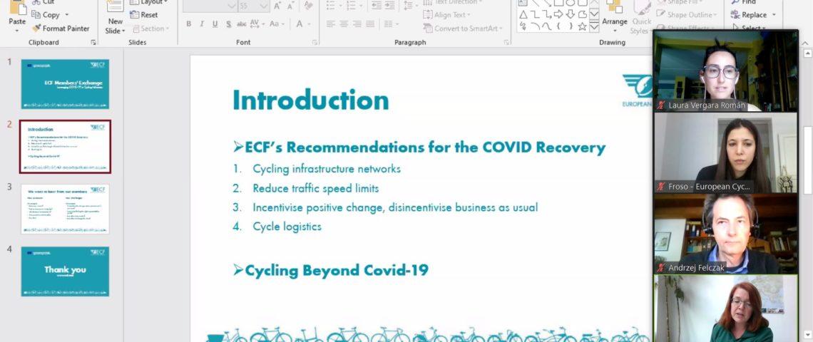 Reunión con European Cyclist Federation