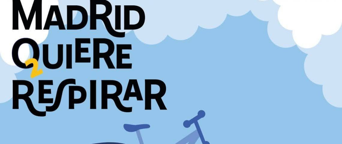 Bicifestación «Madrid quiere respirar»