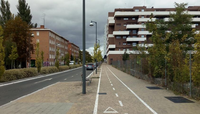 Las falsas vías ciclistas de Vitoria-Gasteiz