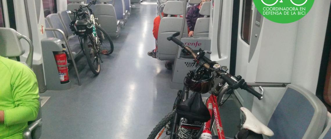 Presentación del informe Cyclists Love Trains