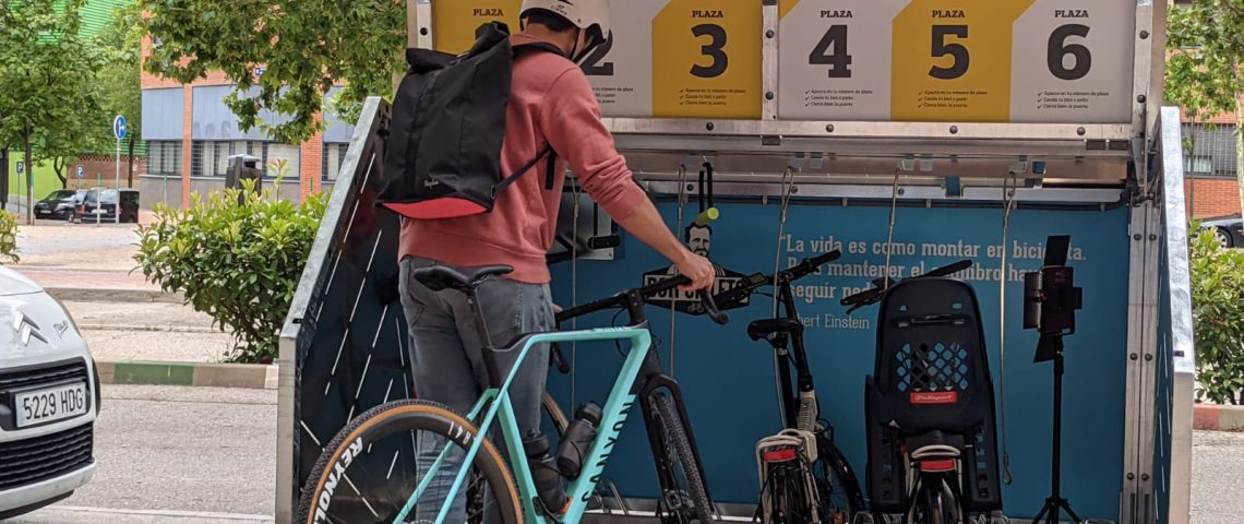 Don Cicleto lanza una solución para el aparcamiento seguro de bicicletas